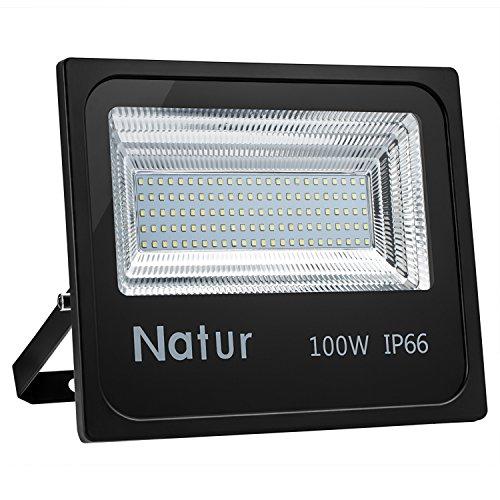 100W Foco led exterior,Led Proyector para Exterior Iluminación Decoración alto brillo 10000LM...