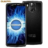 11000mAh Smartphone ohne Vertrag, OUKITEL K10 Dual SIM Handy 6 Zoll Display 6GB RAM 64GB Octa Core Smartphone (21MP+8MP Hintere Kamera, 13+8MP Vordere Kamera) 5V/5A Quick Charge