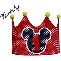 Corona primer cumpleaños 1 año para bebes niños y niñas