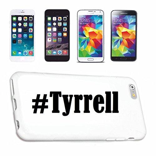 Handyhülle Samsung S7 Edge Galaxy Hashtag #Tyrrell im Social Network Design Hardcase Schutzhülle Handycover Smart Cover für Samsung Galaxy Smartphone in Weiß Schlank und schön, das ist unser HardCase