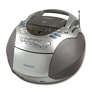Roberts CD9960 CD FM/MW/LW Radio Cassette Player