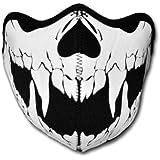 WINDMASK Neopren Biker Motorrad Maske Sturmmaske Skimaske - Skull Face Totenkopf #108