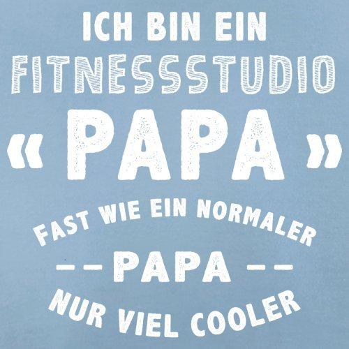 Ich bin ein Fitnessstudio - Herren T-Shirt - 13 Farben Himmelblau