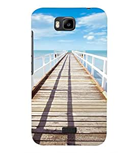 PRINTSHOPPII NATURE Back Case Cover for Huawei Honor Bee::Huawei Y5C