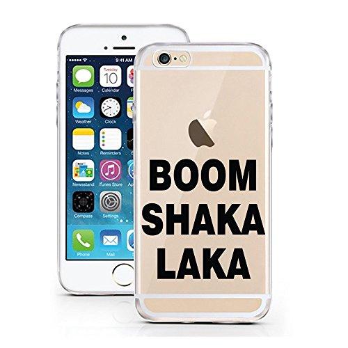 Blitz® Oeuf motifs housse de protection transparent TPE caricature bande iPhone Désolé, pas désolé M10 iPhone 5c BOOM SHAKA LAKA M2