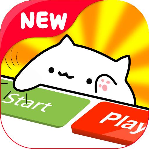 Bongo Meow Cat Meme Musical Instruments (Cat Piano-meow)