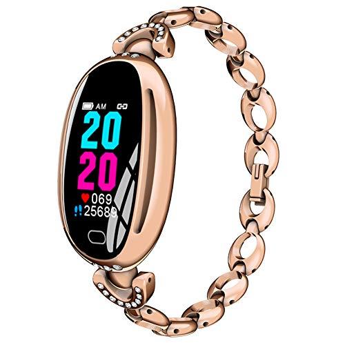 Mujer Inteligente Reloj Aptitud Rastreador, Corazón Tarifa Monitor Reloj con...