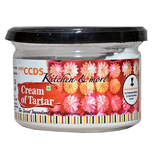 CCDS Cream of Tartar, 125 Grams Cooking Food Baking