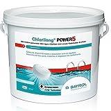 Bayrol chlorilong power 5 - Chlore lent 5 fonctions galet 5kg