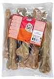 Ossa pressate in pelle di bovino per cani 21cmx10 Zolux