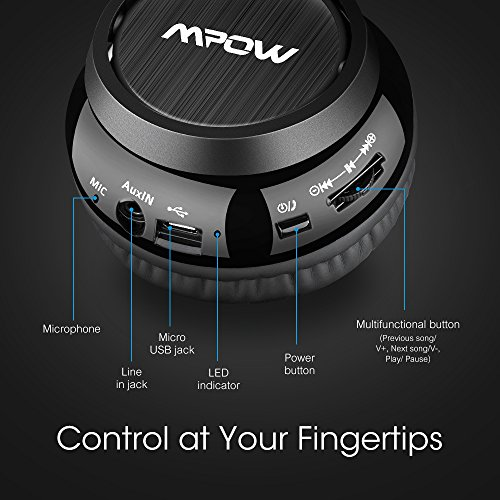 how to connect mpow bluetooth headphones to laptop