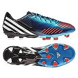 adidas Herren Predator Lz TRX Fg G61627 Mens Football Boots UK 12.5, Blau/Weiß / Schwarz/Rot, EU48