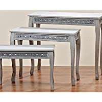 Tavolino-Set(Set di 3) (Casa Occasional Table Set)