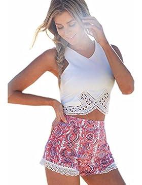 Lunaanco Camisetas para Mujer,Vestidos de Mujer, Camisetas de Mujer, Bata, Minifalda de Mujer, Mujer Chaleco Blusas...