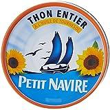 Petit Navire Thon Entier à l'Huile de Tournesol 160 g