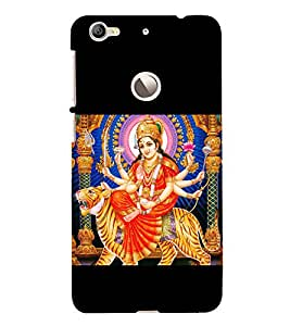 Maa Durga 3D Hard Polycarbonate Designer Back Case Cover for LeEco Le 1s :: LeEco Le 1s Eco :: LeTV 1S