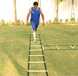 #8: Pepup Sports Super Flat Adjustable Speed Agility Ladder (4M With 10 Rungs)