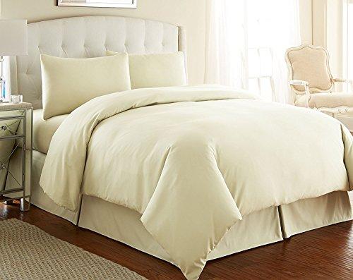 Hemd southshore fein Bettwäsche 3-Teiliges-Übergroße Bettbezug-Set, gebrochenes weiß, Twin/Twin XL -