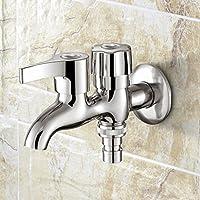 Lingyun Robinet- Robinet de bain Simple froide Extension Mop Piscine Machine à laver à double usage robinet