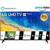 LG 139 cm (55 inches) 4K UHD Smart LED TV 55UM7290PTD (Ceramic BK + Dark Steel Silver) (2019 Model)