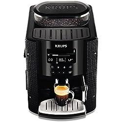 Krups EA815070 - Cafetera Automática 15 Bares de Presión, Pantalla LCD