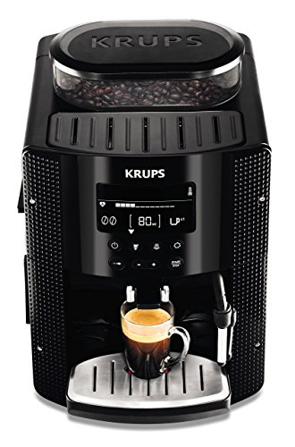 evollautomat (1450 Watt, 1,8 Liter, 15 bar, LC Display, CappuccinoPlus-Düse) schwarz ()
