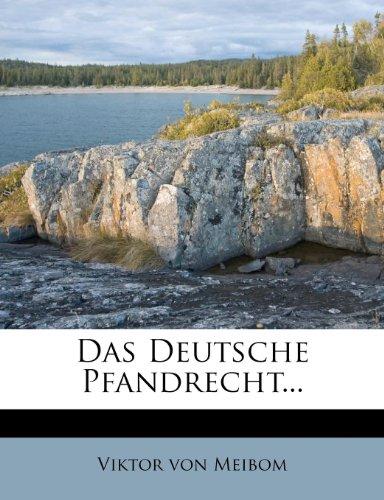 Das Deutsche Pfandrecht...