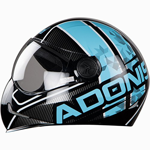 3a5ed120 Buy Steelbird Men's ISI Certified Adonis Majestic With Plain Visor in Glossy  Finish on Amazon | PaisaWapas.com