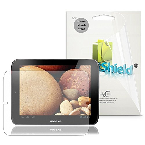 GreatShield gs70422Anti-Glare IdeaTab S21093pc (S) Screen Protector-Screen Protectors (Anti-Glare Screen Protector, Tablet, Lenovo, IdeaTab S2109, Polyethylene Terephthalate (Pet), transparent)