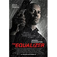 THE EQUALIZER MOVIE POSTER PRINT APPROX SIZE 12X8 INCHES