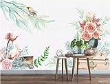 HONGYUANZHANG Harmonische Naturkulisse Tapete Des Foto-3D Künstlerische Landschafts-Fernsehhintergrund-Tapete,24Inch (H) X 32Inch (W)