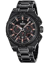 Festina Herren-Armbanduhr Chronograph Quarz Edelstahl beschichtet F16969/4