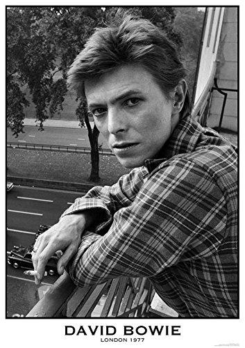David Kostüm Ziggy Stardust Bowie - David Bowie London 1977Poster 61x 83,8cm