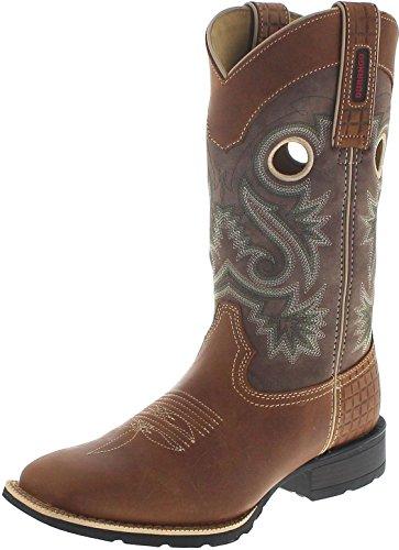 Durango Boots Mustang DDB0119 Brown Dark Brown/Herren Westernreitstiefel Braun/Westernstiefel/ Herrenstiefel, Groesse:44.5 (11 US) -