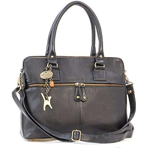 ofertas para el dia de la madre CATWALK COLLECTION - VICTORIA - Bolso de hombro estilo shopper - Cuero vintage