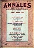 CONFERENCIA [No 3] du 01/01/1951 - LE QUARTIER DES LETTRES - LE COTE DU THEATRE - PAUL REYNAUD - S. GROUSSARD - LES PREMERES DU VIEUX-COLOMBIER - ARMAND SALACROU - R.P. RIQUET S.J. - ANGOISSSE DE NOTRE JEUNESSE.