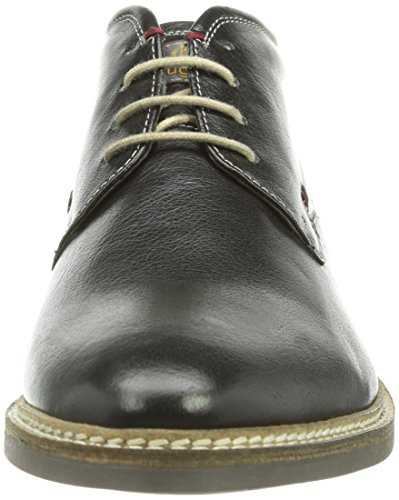 bugatti  U8005PR4W, Chaussures de ville à lacets pour homme Noir - Noir