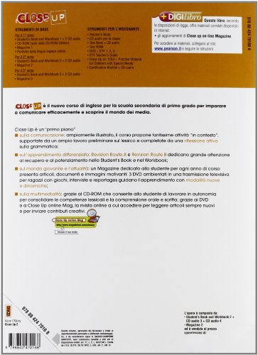 Close up. Student's book-Workbook. Per la scuola media. Con CD Audio. Con espansione online: 2