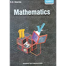 Mathematics for Class 10 by R D Sharma (2018-19 Session)