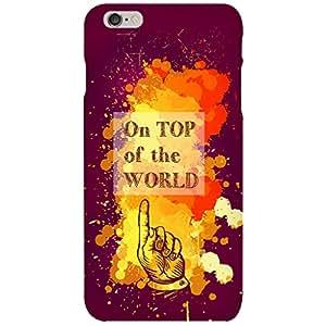 URBAN KOLOURS Original Designer Printed Hard Case Back Cover for Apple iPhone 6 (Right On D Top)