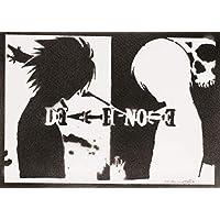 Póster Death Note Grafiti Hecho A Mano - Handmade Street Art - Artwork