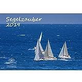 Segelzauber · DIN A3 · Premium Kalender 2019 · Segelschiff · segeln · Wasser · Yacht · Boot · Reling · Fjord · Strand · Urlaub · Meer · Edition Seelenzauber