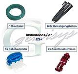 Installations-Set XS Worx Landroid WG7* Kabel Haken Verbinder Installation Paket