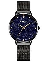 Caractéristiques spécialesNos montres sont caractérisées par un mouvement à quartz de qualité japonaise. L'horloge à quartz fonctionne au moyen d'une horloge à quartzLa montre pour femme Alienwork avec un cadran en marbre véritable est un accessoire ...