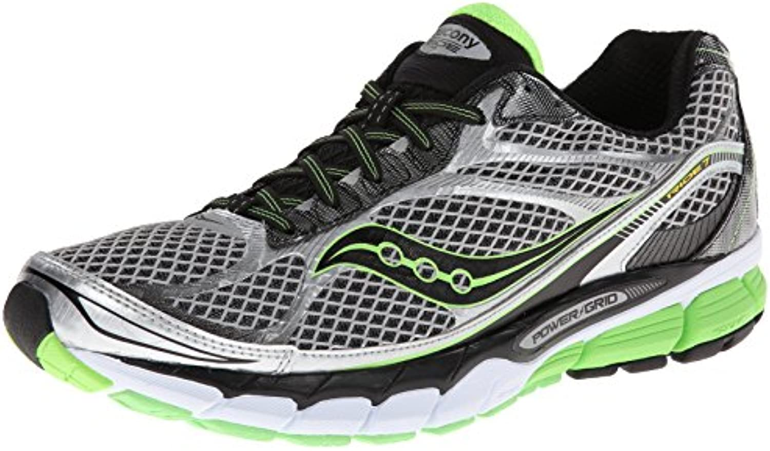 Saucony Ride7 grey /black /green
