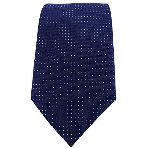 TigerTie raso cravatta rosso bord/ò uni poliestere