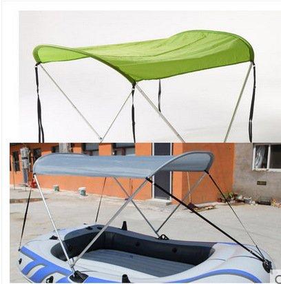 Preisvergleich Produktbild Multifunktionale Sonnenschirm-Schuppen Sonnenschutz-Schuppen Abnehmbare Typ Markise Angeln-Zelt Wasserdichte Abdeckplane Aluminium-Legierung (grün)