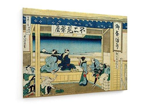 hokusai-yoshida-a-tokaido-100x75-cm-impression-sur-toile-weewado-art-mural-vieux-maitres