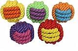 Bild: Von Multipet Muttern für Knoten SeilGummi Ball Hundespielzeug 76cm sortierte Farben