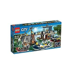 Lego City Police Swamp Police Station, Multi Color